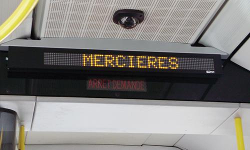 Information voyageurs embarquée